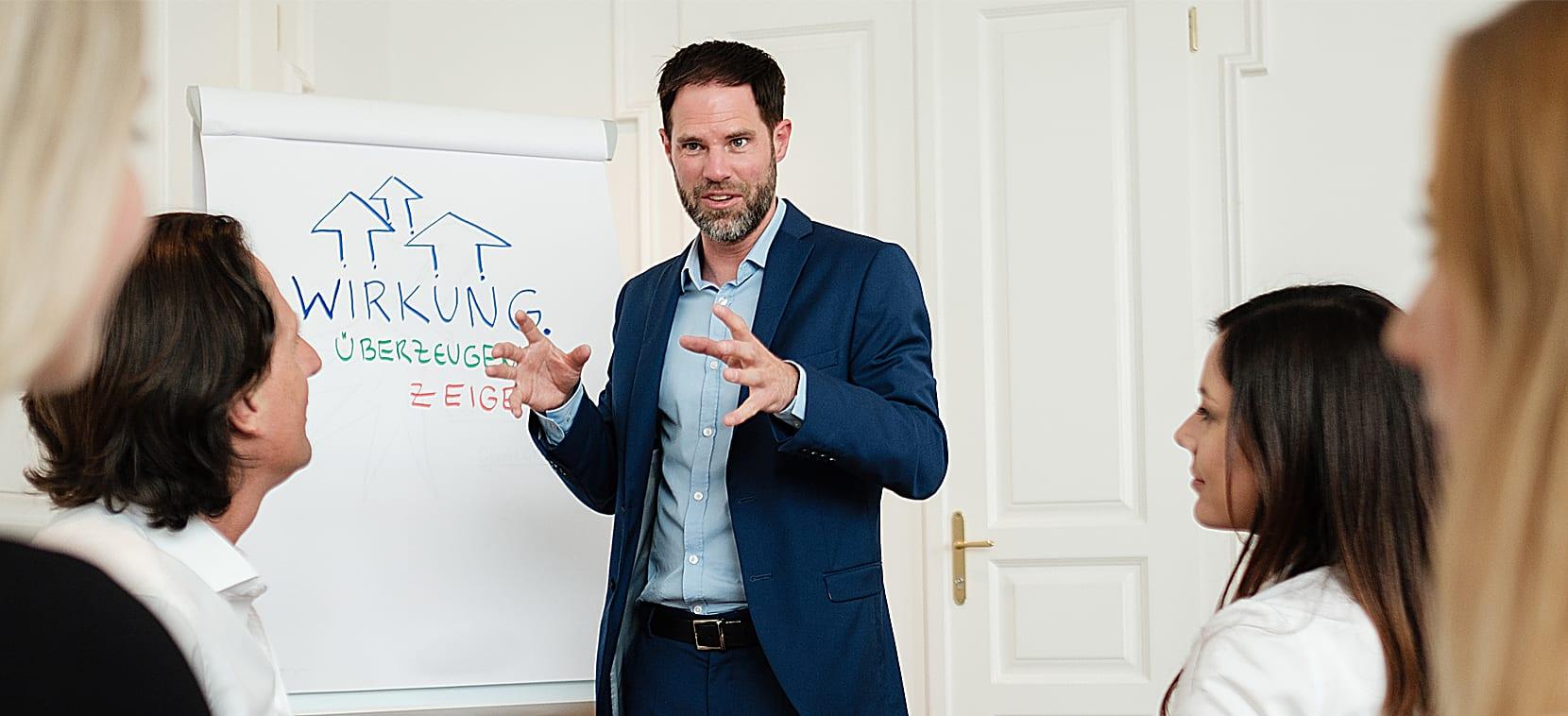 Seminare von Andreas Powisch: Wirkung zeigen und Menschen überzeugen